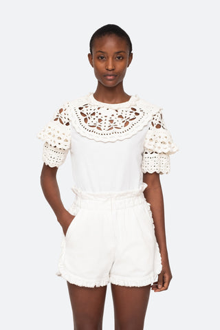 Zimmermann Pleated Long Sleeve Mini