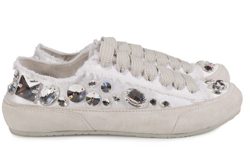 Golden Goose Black Metallic-Glitter Yellow Star