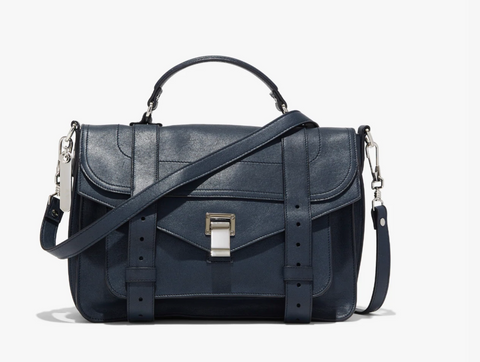 Proenza Schouler PS 1 Medium - Dark Navy