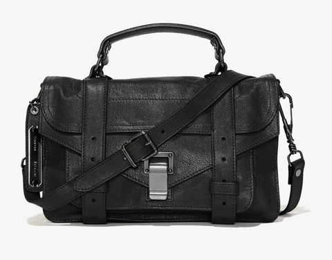 Proenza Schouler PS 1 Tiny- Black