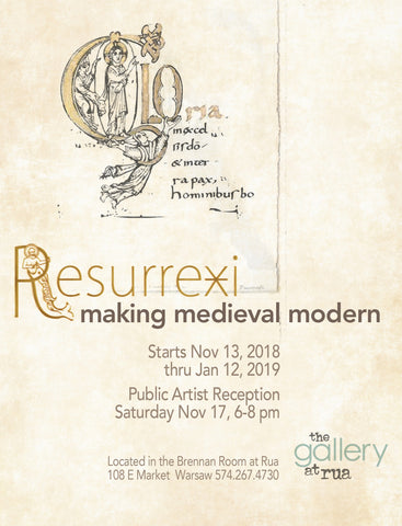 Making Medieval Modern Art Gallery Show