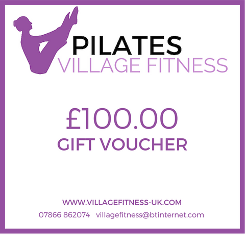 Village Fitness Gift Voucher £100