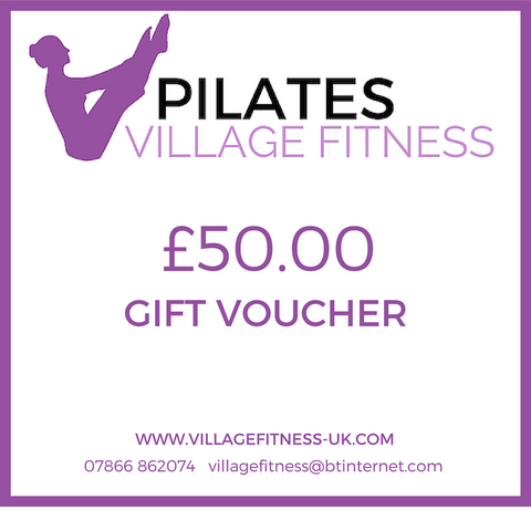 Village Fitness Gift Voucher £50