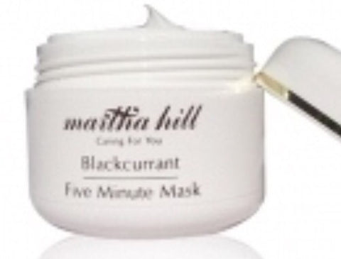 Blackcurrent Five Minute Mask