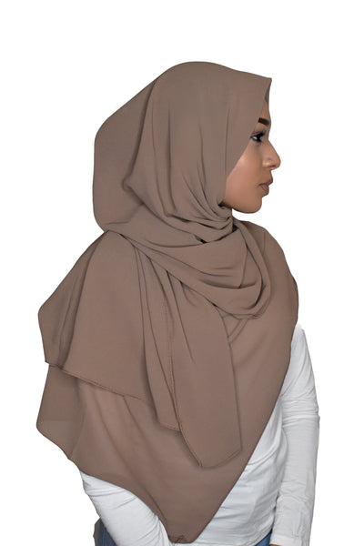 DFF Luxurious Chiffon - Brown