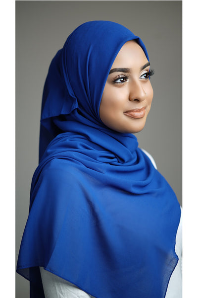 DFF Luxurious Chiffon - Crisp Royal Blue