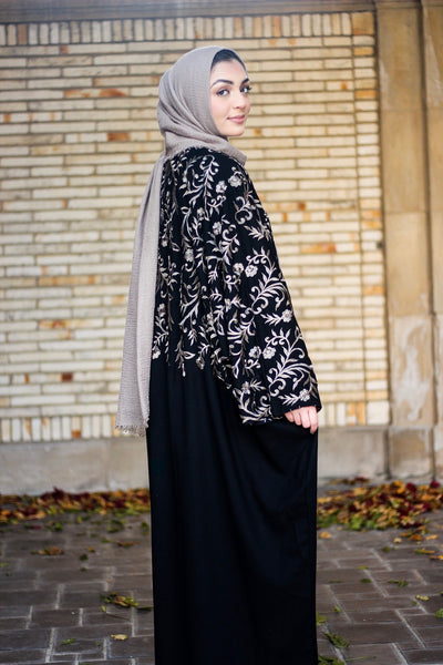 Bahrain Abaya With Embroidery