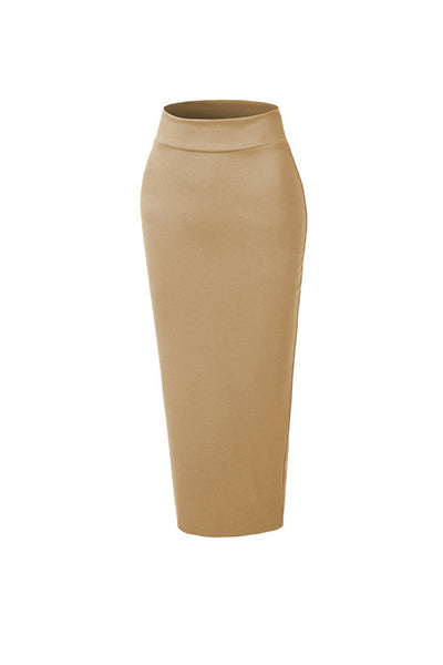 Pencil Skirt - Nude