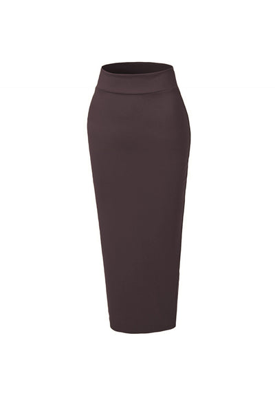 Pencil Skirt - Dark Chocolate