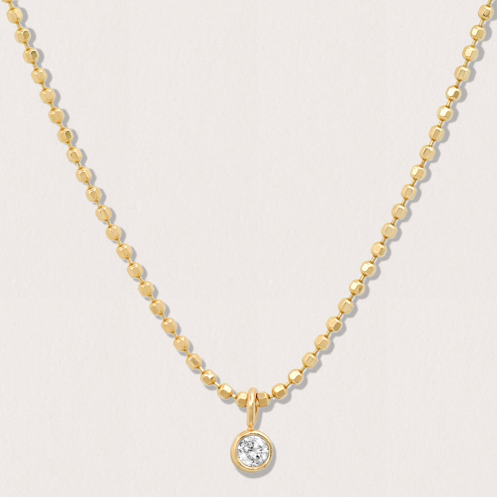 Gold Dust Diamond Necklace