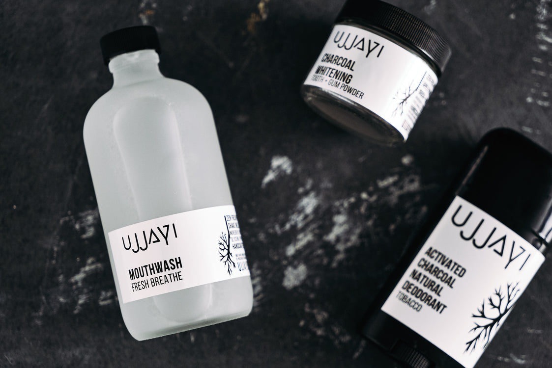 Ujjayi natural tooth powder and mouth wash