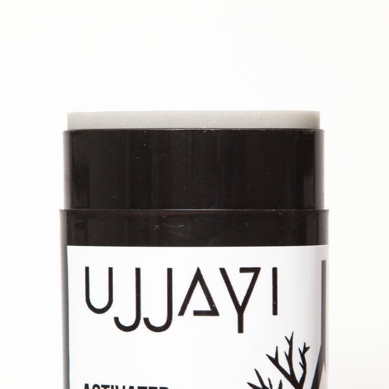 ACTIVATED CHARCOAL NATURAL DEODORANT  CITRUS THYME  ALUMANUM FREE