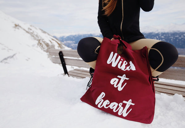 Wild At Heart Maxi Bag - bordeaux - Delayon Shop