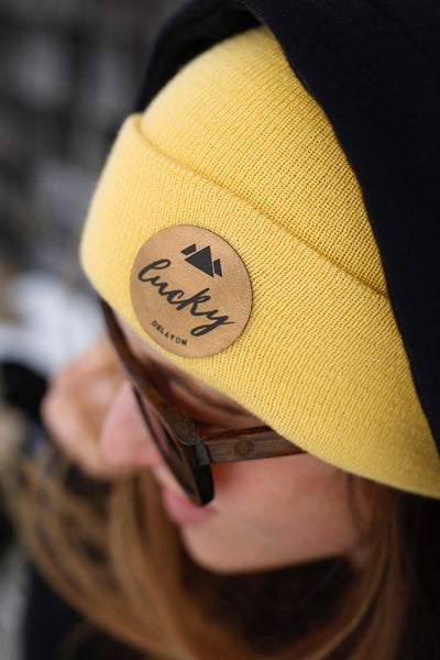 Lucky Beanie - banana yellow