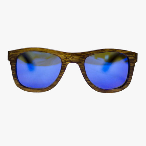 Residenz Wooden Sunglasses mountain blue - Delayon Shop