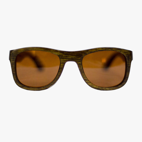 Residenz Wooden Sunglasses vintage brown - Delayon Shop