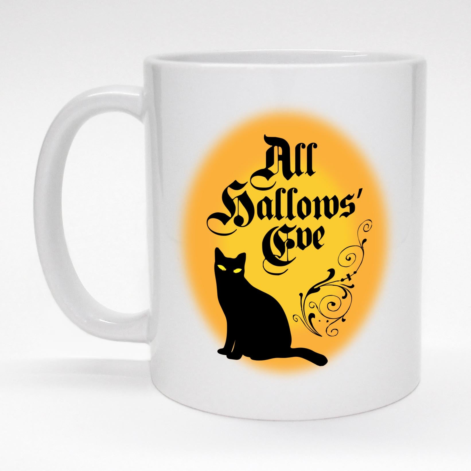 All Hallows Eve Mug Halloween Coffee Tea Gifts Atomic Mugs