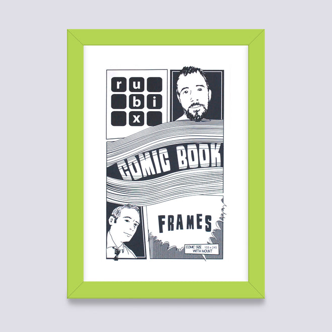 Comic Book Frame