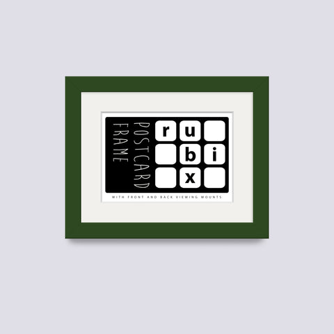 Green - Dark Postcard Picture Frame