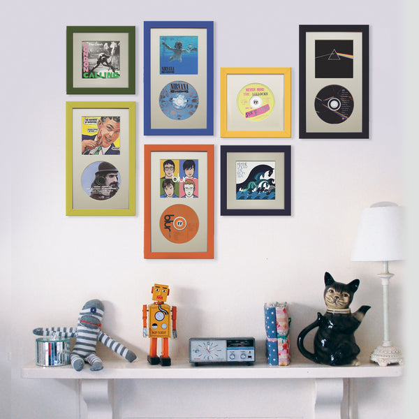 compact disc picture frame for oasis albums