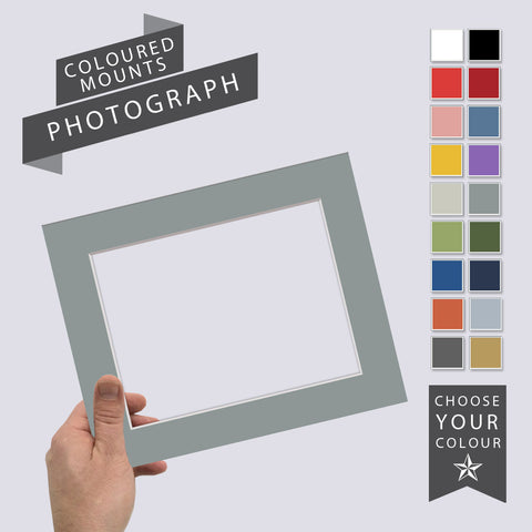 Add a Coloured Mount: Photograph