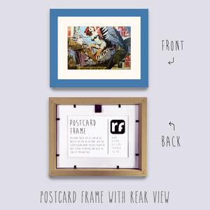 Blue - Light Postcard Picture Frame