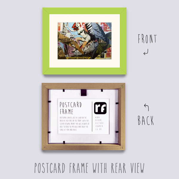 Green - Light Postcard Picture Frame
