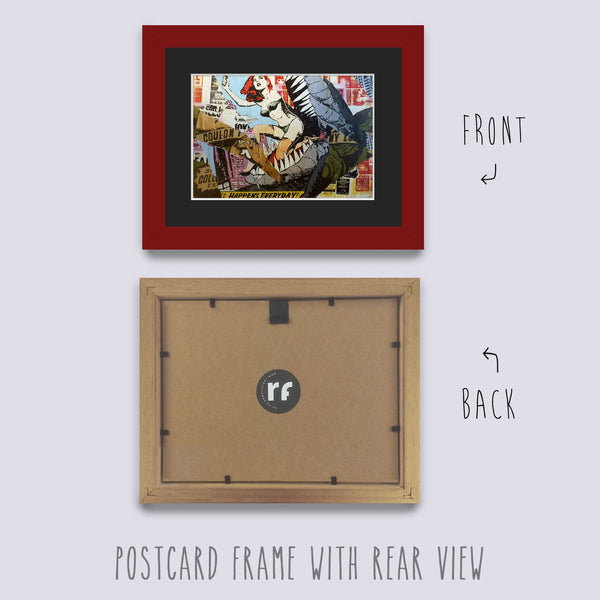 Red - Dark Postcard Picture Frame