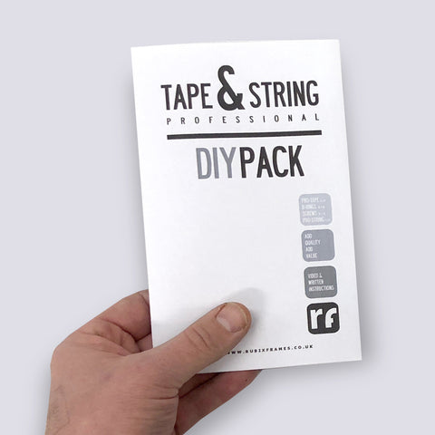 Frame Backing - Tape & String