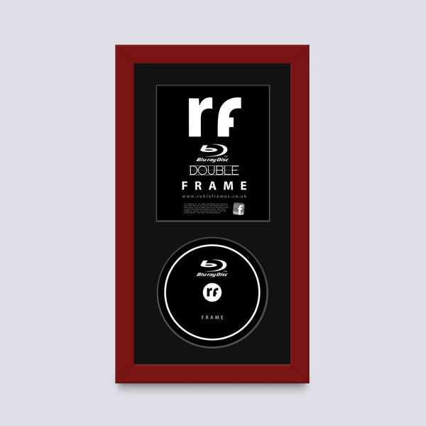 Red (Dark) Blu-ray Frame