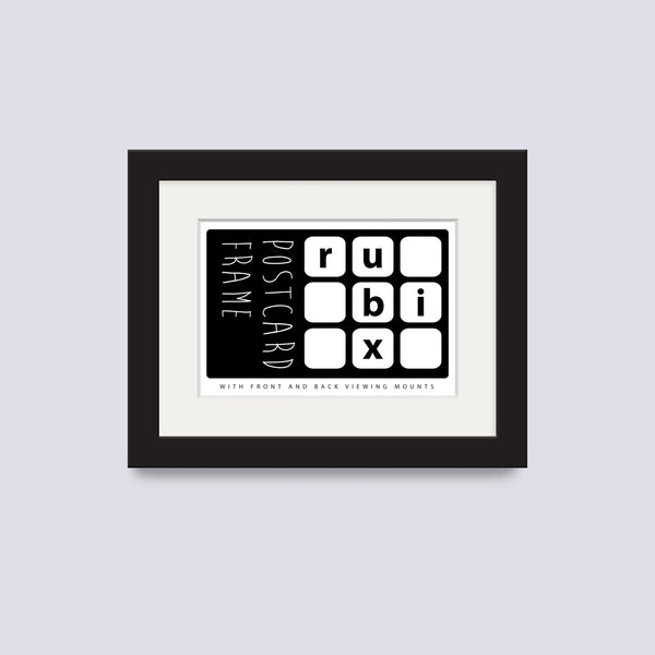 Black Postcard Picture Frame