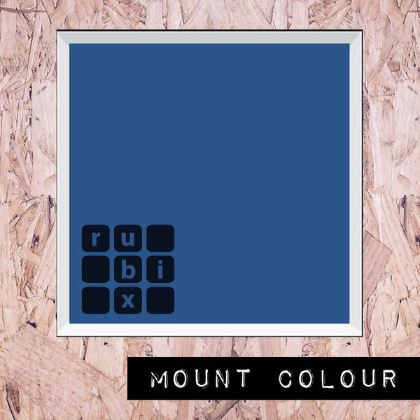 Blue - Medium Mount (all styles)