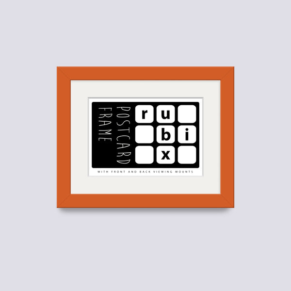 Orange Postcard Picture Frame