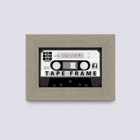 putty audio cassette tape and case frame