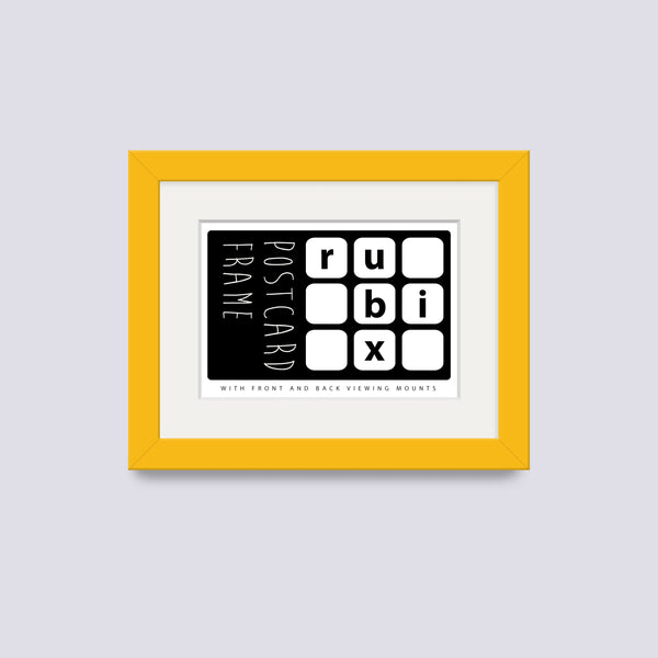 Yellow Postcard Picture Frame