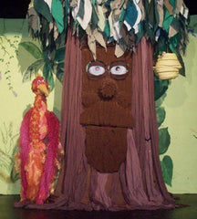 Whispers of the forest puppets