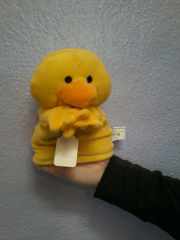 Chick hand puppet