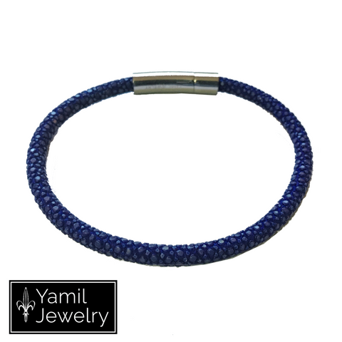 Blue Stingray 1S Bracelet - Yamil Jewelry