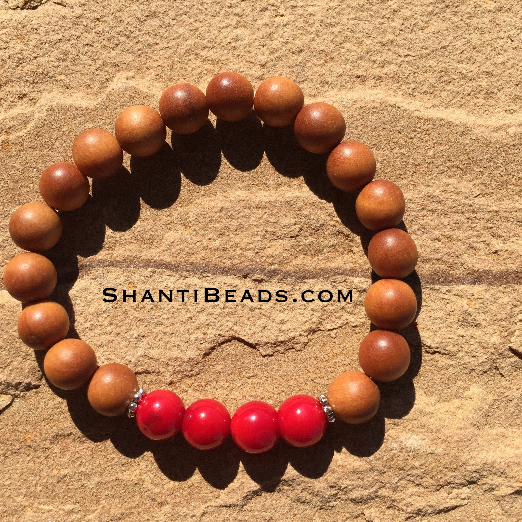 Fragrant Sandalwood With Red Coral