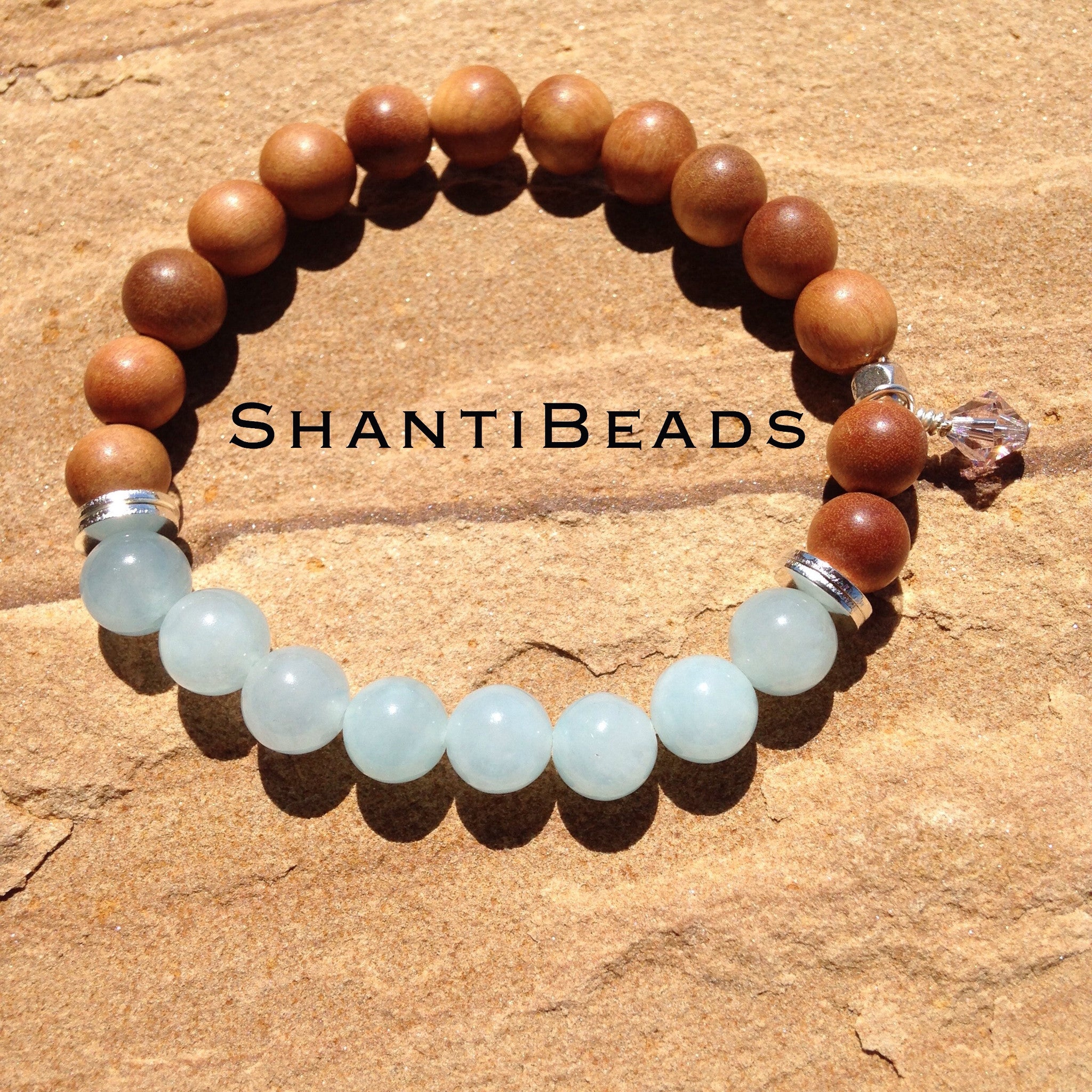 Fragrant Sandalwood, Aquamarine Blue Jade,...