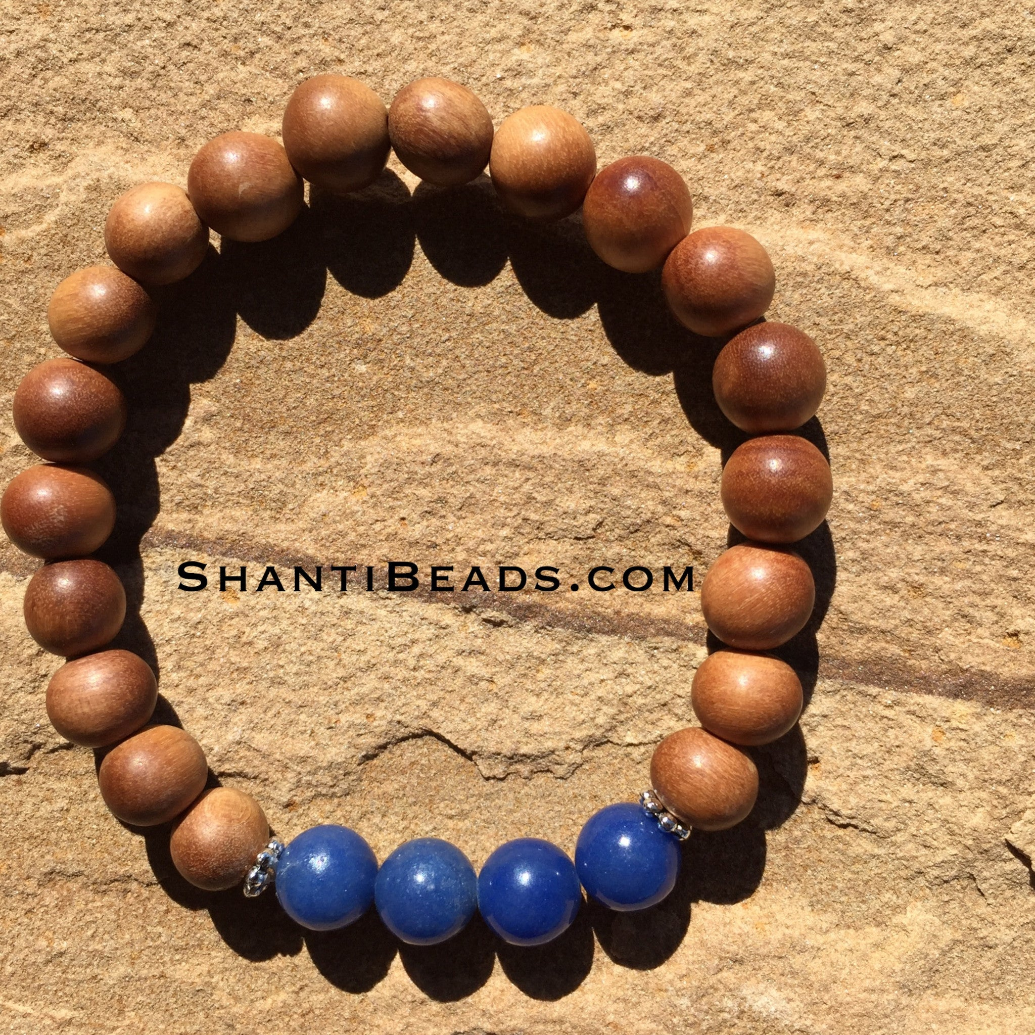 Fragrant Sandalwood With Blue Aventurine