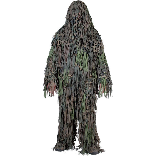 ghillie suits & face paint