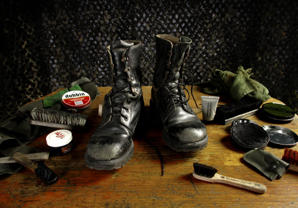 Boot Care products @ Army and Outdoors