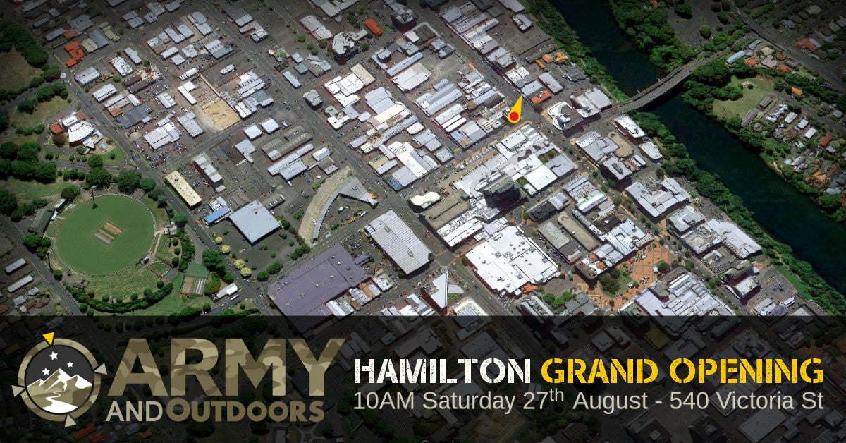 Hamilton Grand Opening | Army and Outdoors