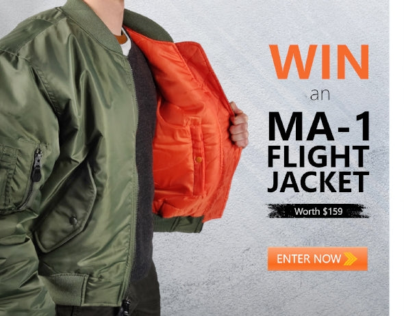 Win an MA-1 Flight Jacket