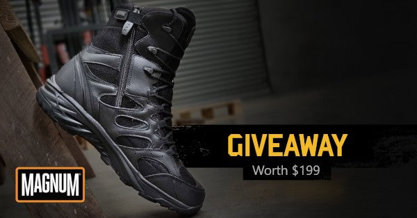 Magnum Wild Fire Boot Giveaway