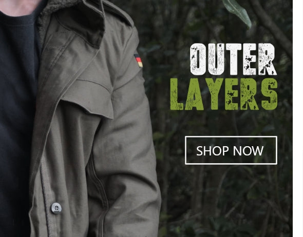 Shop Military Outerwear