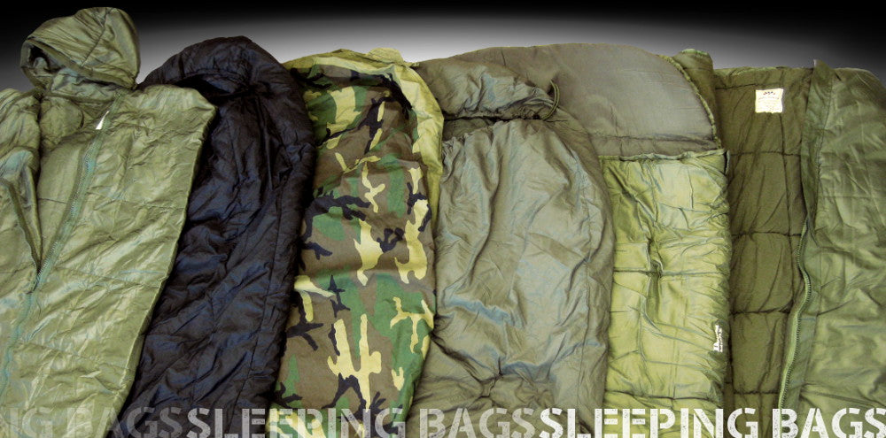 Sleeping bags at Army and Outdoors