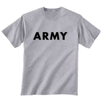 Plain print t shirts army and outdoors for Plain t shirts to print on