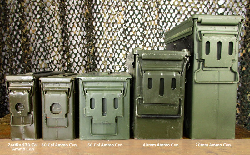 Ammo box range at Army and Outdoors